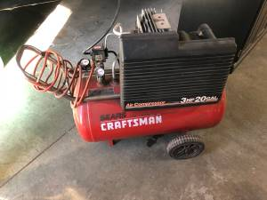 Sears Craftsman 3hp 20 gallon air compressor (Minneapolis)