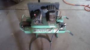 Barter Heavy Duty Speedaire Air Compressor