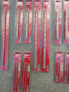 Milwaukee Hammer drill bits (Southwest Lincoln)