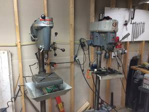 Vintage Craftsman 150 Drill Press with rare Vari-Slow attachment (Spring Valley)