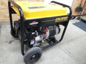 Briggs and Stratton Exl 8000 Generator