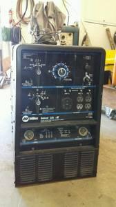 Miller bobcat welder generator (Koshkonong)