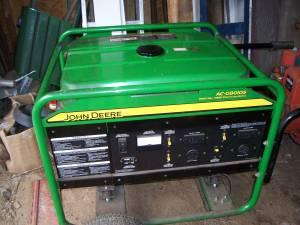 John Deere generator (plainfield)