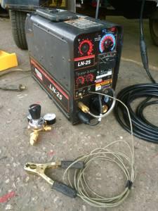 Miller big 40 pro welder generator also have Lincoln ln-25 suitcase we (Arizona