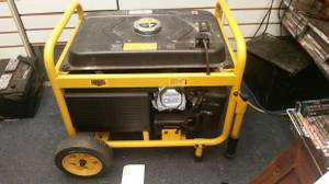 Generator with electric starter switch (Baltimore, Md)