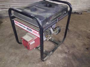 5000 watt generator (Chana rockford il)
