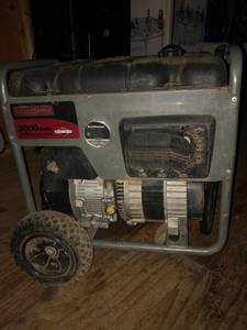 Craftsman generator