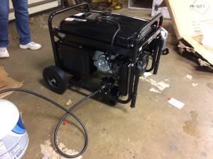 brand new dual fuel 7500 watt generator (Dublin)