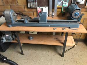 Craftsman / King-Seeley woodturning lathe (Anoka)