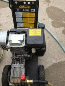 Landa ZG 3-2000 Pressure Washer - 5.5 hp Honda Engine (Eugene)