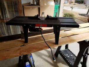 Vermont American Router Table (Mckinney)