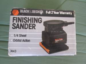 Black & Decker Finishing Sander (Vienna)
