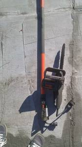 Pole chain saw (Greenwood)