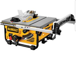DEWALT 15-Amp 10-In CARBIDE-TIPPED TABLE SAW FOR SALE