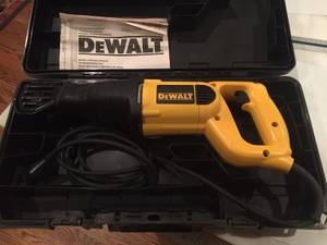 Dewalt DW304P Keyless Reciprocating Saw Sawzall (Huntsville)