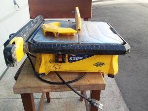 Tile saw (Garden and victoria)