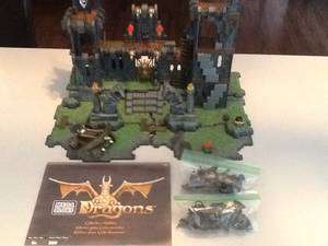 Mega Bloks Dragons Dragon Tower #9896 Collectors Edition (McKinney)