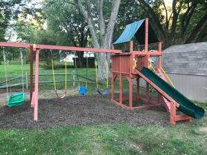 Rainbow Swingset (Heath)