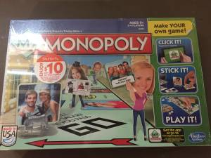 Hasbro HS-3991 My Monopoly Game Board Games BRAND NEW (Delaware Lewis Center)