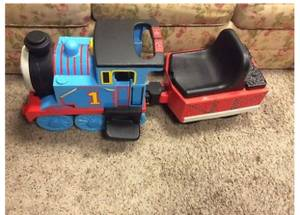 Peg Perego Mororized Thomas Tank Engine Train Ride On