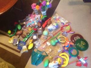 Mardi Gras Toy Throws (Biloxi)