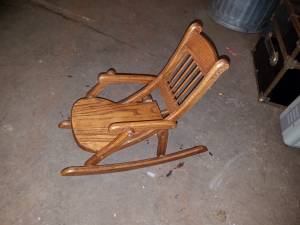 Folding Doll Rocking Chair (Pontiac)