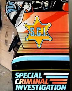 S.C.I. - Special Criminal Investigations arcade game