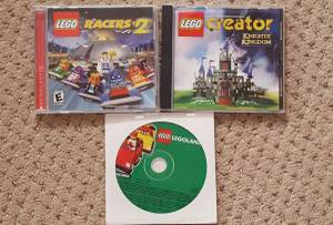 3 computer Games, Lego (Trooper)