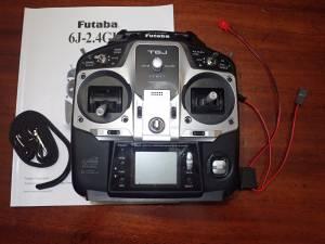 Futaba T6J Transmitter RC TX Radio Control & RX (JUNO, PB GARDENS)