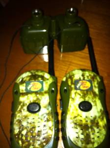 WALKIE TALKIES BASS PRO Shop (and toys!!) (Swampscott)