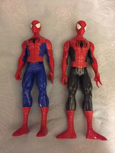 Spider Man figures (Highview)