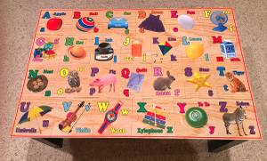 Wooden Alphabet Floor Puzzle 24