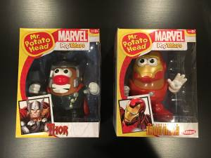 Marvel Comics Thor & Iron Man Mr. Potato Head Toy Figure (Highlands Ranch)