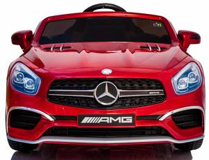 Electric Ride On Car Mercedes AMG SL65 12V Battery For Kids Rc Red (DANIA BEACH)