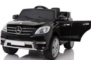 New Ride On Car Mercedes ML350 6V For Kids Electric Battery Rc Black (DANIA