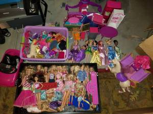 Large Barbie Lot (Thornton)