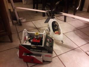 Radio controlled helicopter gas. (East tucson)