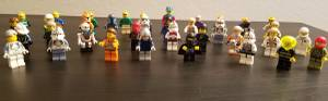 Lots Of Lego Minifigures (Bellevue)