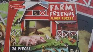 24 piece floor puzzle