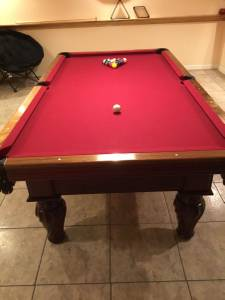 AE Schmidt Pool Table (Barnhart)