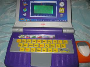 Fun 2 Learn toy laptop (Marlboro Stow Hudson)