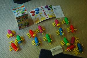 1 complete Cootie game and 119 extra Cootie pieces (Ellicott City)