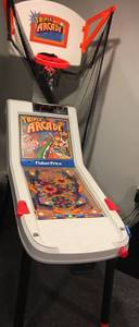 VINTAGE FISHER PRICE TRIPLE ARCADE GAME CIRCA 1994 (Baldwin)