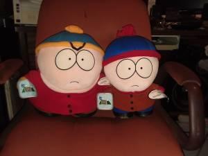 Large Eric Cartman & Stan talking dolls (Sunrise, FL)