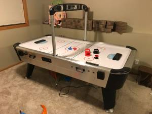 Sportcraft Air Hockey Table (Rogers)