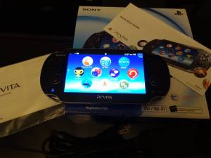 Excellent Condtition Playstation Vita 1001 OLED PS Vita VERSION 3.65 (Reno)