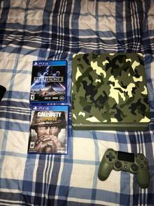 Limited Edtion Call od Duty Ps4 Slim