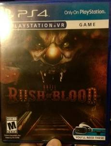 Until Dawn: Rush of Blood (PS4/PSVR) (Fort Washington)