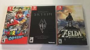 Nintendo Switch Games - Like New (Dublin)