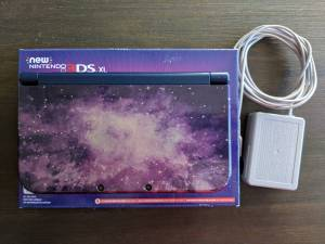 New Nintendo 3DS XL with extras (High Point)